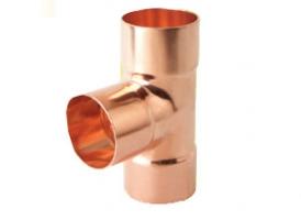 紫铜三通-紫铜管件